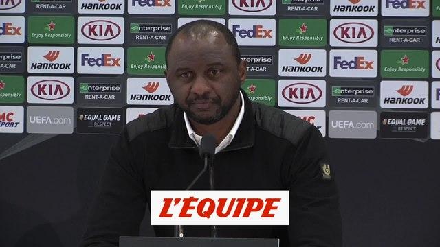 Vieira : « Il y a de la frustration et de la colère » - Foot - C3 - Nice