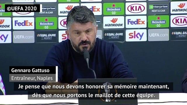 "Maradona - Gattuso : ""Représenter Diego du mieux possible"""