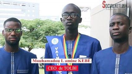 Mouhamadou Lamine KEBE (Tolbi), lauréat du Grand Prix du Chef de l'Etat pour l'Innovation Numérique