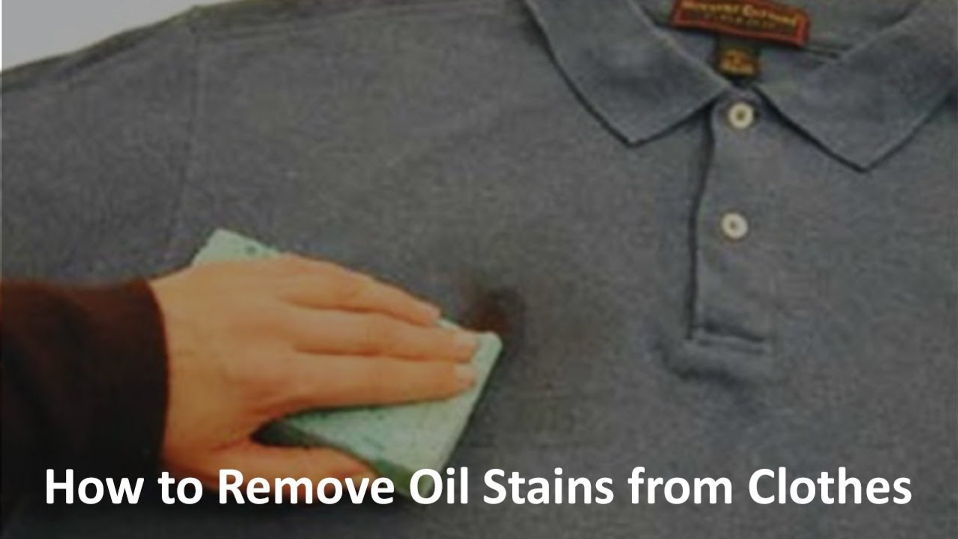 How to Remove Grease or Oil Stains from Clothes | Zubaida Tariq | Health Tips