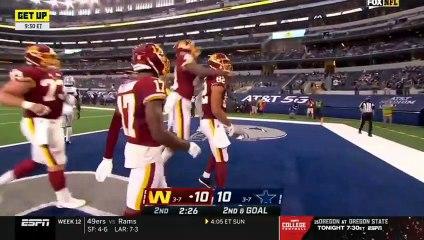 "FIRST TAKE   Stephen A. ""THAT'S MY COWBOYS"" Dallas Cowboys big loss to Washington Football 41-16"