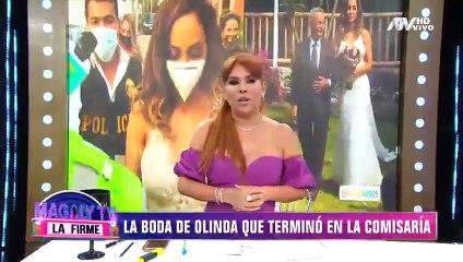 Imágenes completas de la detención de Olinda Castañeda, su esposo e invitados en el día de su boda