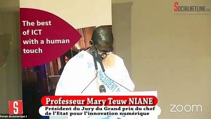 Le cours magistral du Pr Mary Teuw NIANE sur les enjeux du Numérique