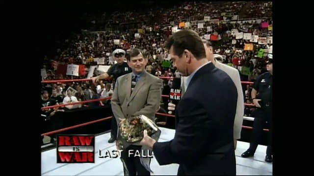 Stone Cold & Vince McMahon Segment After WrestleMania XV - 3-29-1999 Raw Part 2/2