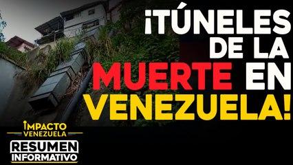 ¡Túneles de la muerte en Venezuela!    NOTICIAS VENEZUELA HOY noviembre 28 2020