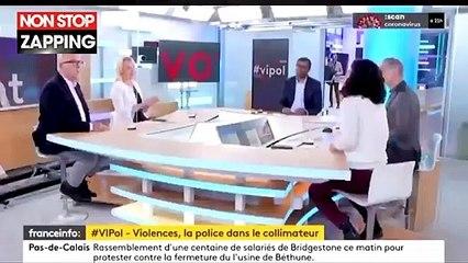 """""""Sale macaroni"""" : Manon Aubry juge que ce n'est pas une insulte raciste avant de démentir (Vidéo)"""