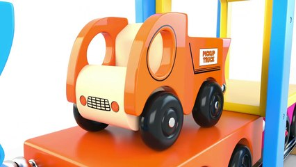Learn Colors with Preschool Toy Train and Street Vehicles Toys - Colors Videos Collection