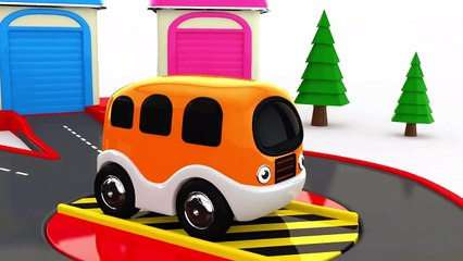 Learning Colors wit Street Vehicles Toys - Videos for Children