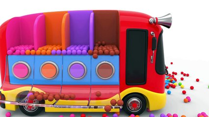 Learn Colors with Street Vehicles and Preschool Toy Train - Colors Videos Collection