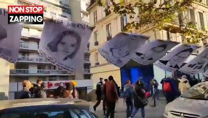 Marche des libertés : les portraits des députés qui ont voté la loi sécurité globale affichés dans la rue (Vidéo)