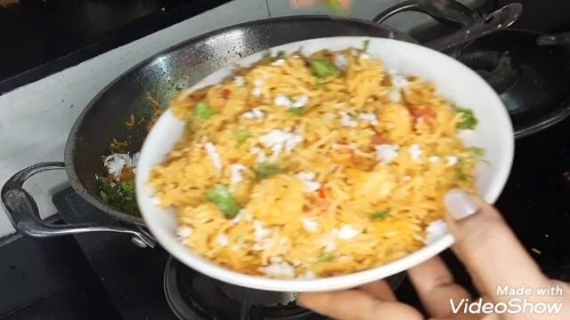 Prawns Pulav/कोलंबी भात