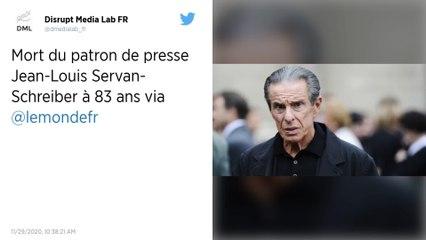 Jean-Louis Servan-Schreiber, icône de la presse française, est mort