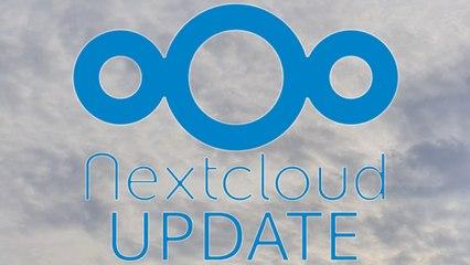 [TUT] NextCloud aktualiseren [4K   DE]