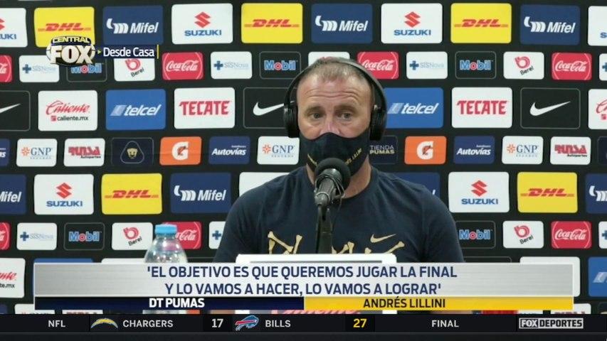 """""""Queremos jugar la final"""", Andrés Lillini: Liga MX"""