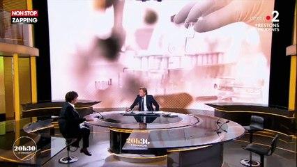 20H30 le dimanche : Roselyne Bachelot ne se laisse pas faire face à Laurent Delahousse qui évoque les vaccins ! (vidéo)