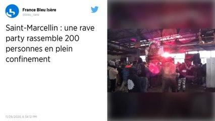 Isère : une rave party réunit 200 personnes en plein centre-ville de Saint-Marcellin