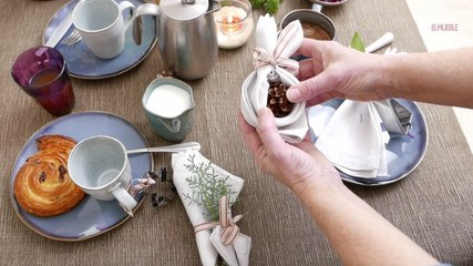 Cómo decorar la mesa para un desayuno navideño