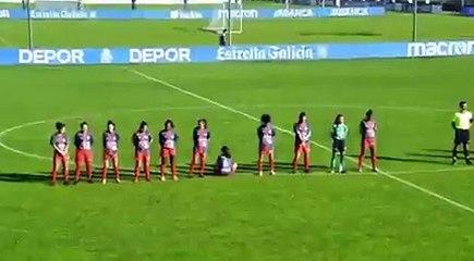 Una futbolista no guarda el minuto de silencio por Maradona