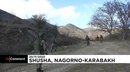 Opérations de déminage dans le Haut-Karabakh