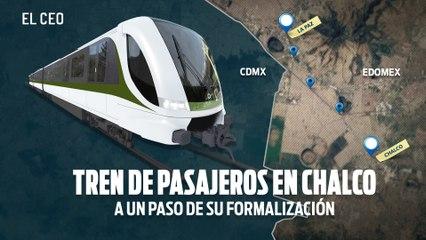 Tren de pasajeros en Chalco está a un paso de su formalización