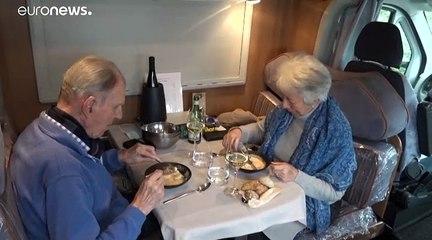 En Belgique, le restaurant alternatif dans un camping-car