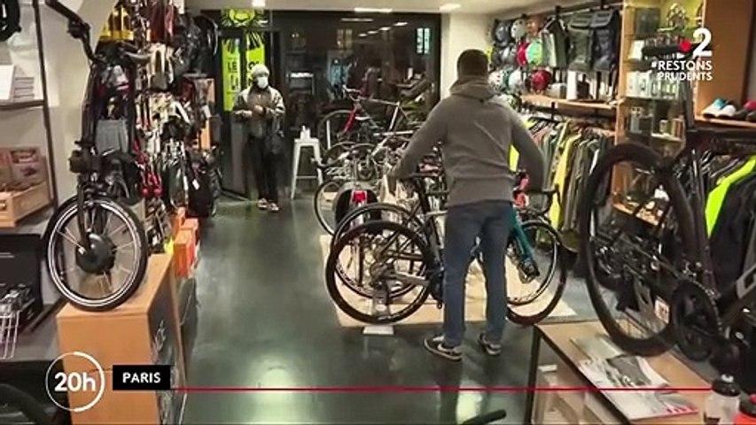 Commerce : les vélos s'arrachent en France