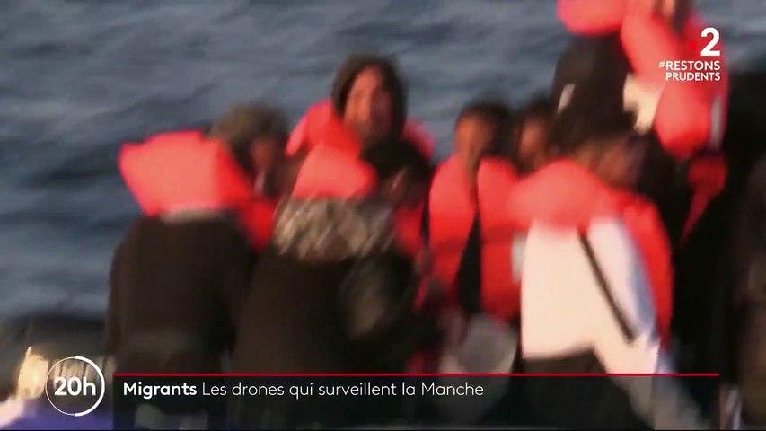 Royaume-Uni : des drones pour repérer les embarcations clandestines
