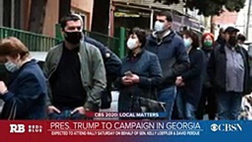 Trump to campaign in Georgia ahead of January Senate runoffs