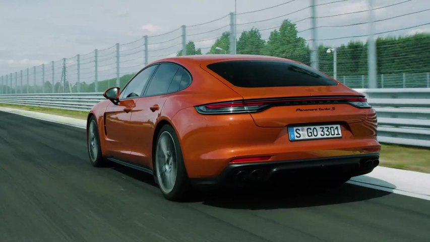 The new Porsche Panamera Deep Dive - Chassis