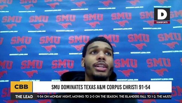 SMU Dominates Texas A&M Corpus Christi 91-54