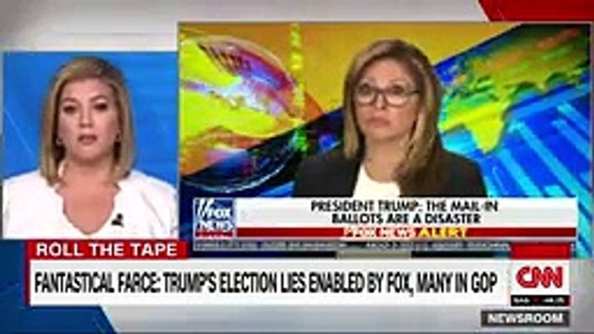 'That is a new one'- Keilar calls out Trump's election conspiracy