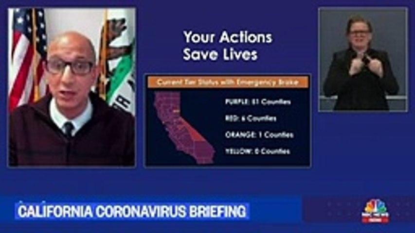 California Gov. Newsom Holds Covid-19 Briefing