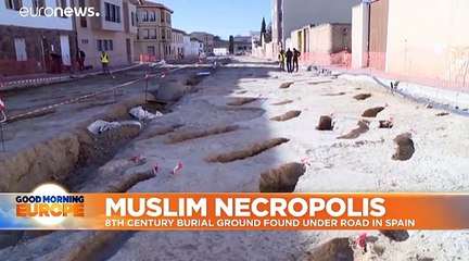 Archaeologists discover ancient Islamic necropolis in northern Spain