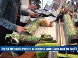 À la UNE : la course aux cadeaux de Noël est lancée à Saint-Etienne / 2 000 manifestants contre la loi de sécurité globale / les fidèles retrouvent la messe dominicale / l'ASSE a marqué son 1er point depuis 7 matchs. - Le JT - TL7, Télévision loire 7
