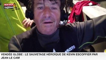 Vendée Globe : Le sauvetage héroïque de Kevin Escoffier par Jean Le Cam (vidéo)