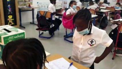 Élection des délégués de classe en CE1 à Saly
