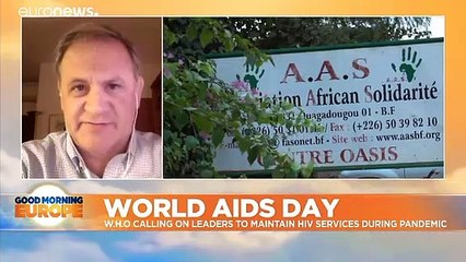 World AIDS Day: WHO calls on leaders to maintain HIV services during COVID-19 pandemic