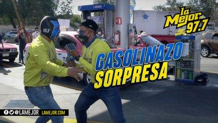 Gasolinazo sorpresa en la GAM ¡Ya llegó Papá!