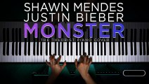 Shawn Mendes & Justin Bieber - Monster _ Piano Cover
