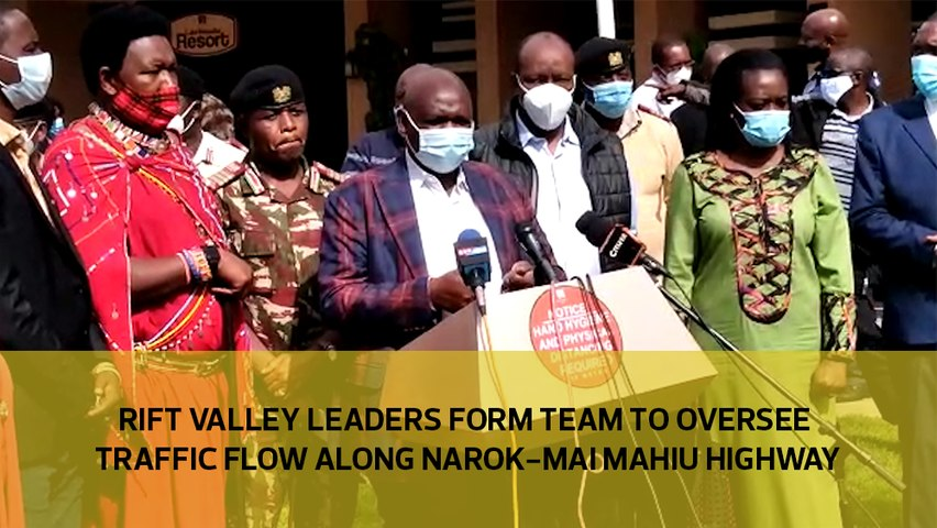 Rift Valley leaders form a team to oversee traffic flow along Narok - Mai Mahiu highway