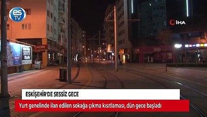 Eskişehir'de sessiz gece