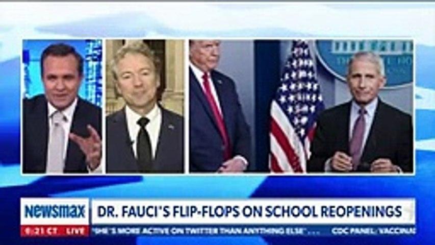 Rand Paul sounds off on 'flip-flop' Dr. Fauci