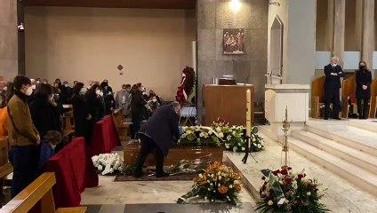 Lazio, il funerale di Arturo Diaconale