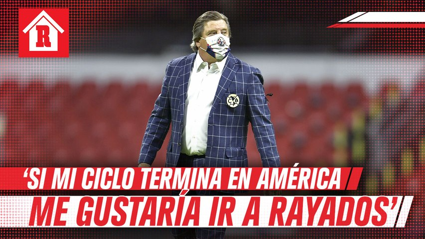 Piojo Herrera: 'Si mi ciclo en América termina, me gustaría volver a Monterrey'
