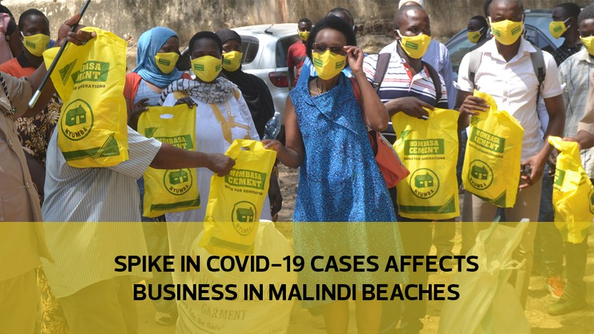 Spike in Covid -19 cases affects business in Malindi beaches