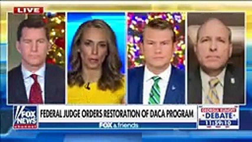 Mark Morgan sounds off on federal judge for reinstating DACA program