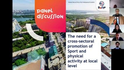 PACTE project's concluding webinar: Become an active city ! Unveiling PACTE project's matrix for change