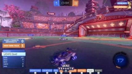 Rocket League Match: St.Francis VS. New York Tech Highlight 6