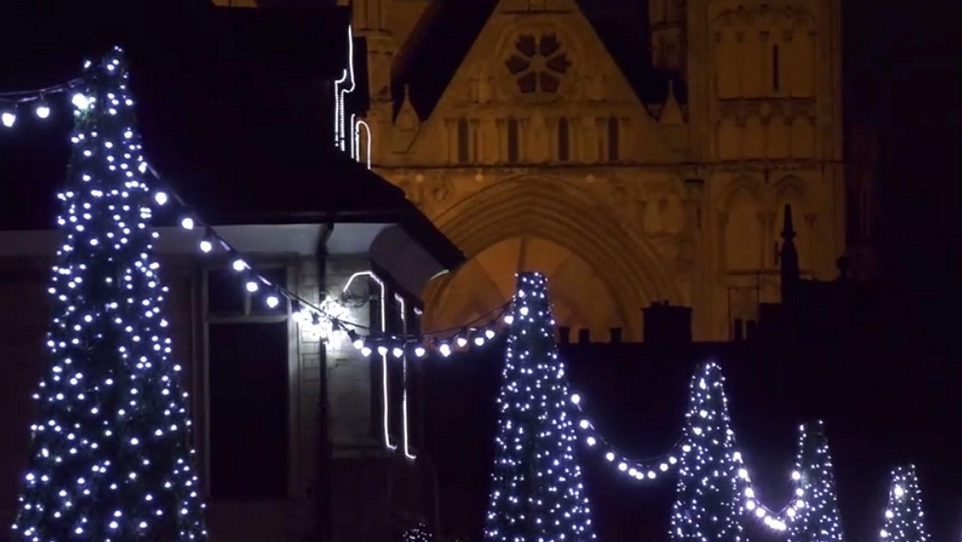 Peterborough Christmas Lights Switch On 2020