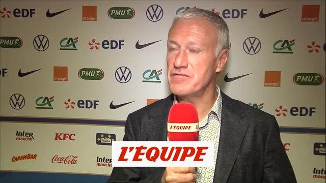 Deschamps : «Giroud a un mental d'acier» - Foot - Bleus